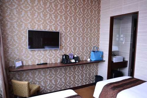 グランドシティホテルのベッドルーム
