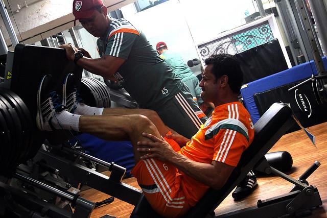 Fluminense: Na reapresentação do elenco, profissionais disputam jogo-treino contra juniores