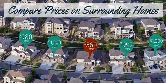 Compare Prices on Surrounding Homes | Prevent Rental Scams