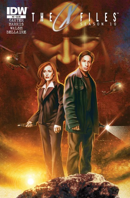 The X-Files - Comics - Cover 4