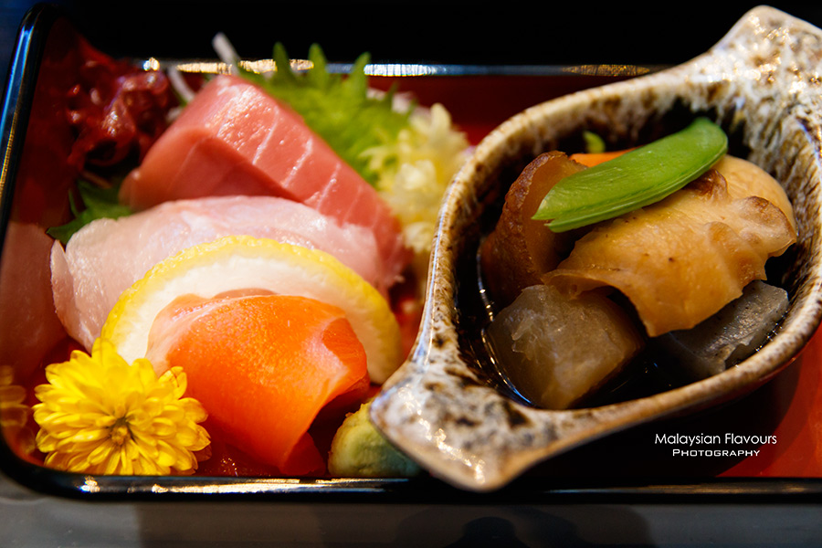 Ten Japanese Fine Dining Restaurant Set Lunch Menu