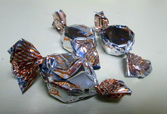 Wrapped Chocolate Candies.