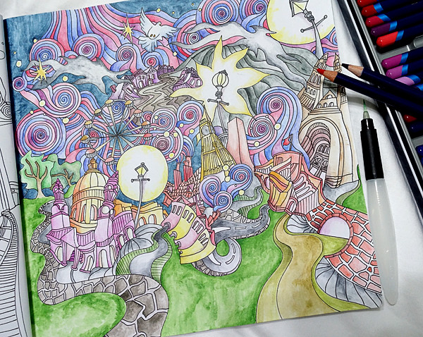 Sasha Farina Paper Play The Magical City London Panorama