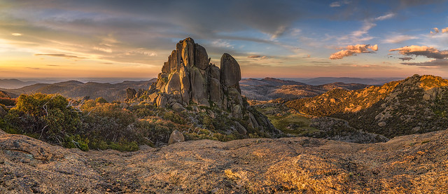 The Cathedral-Mt Buffalo Plateau