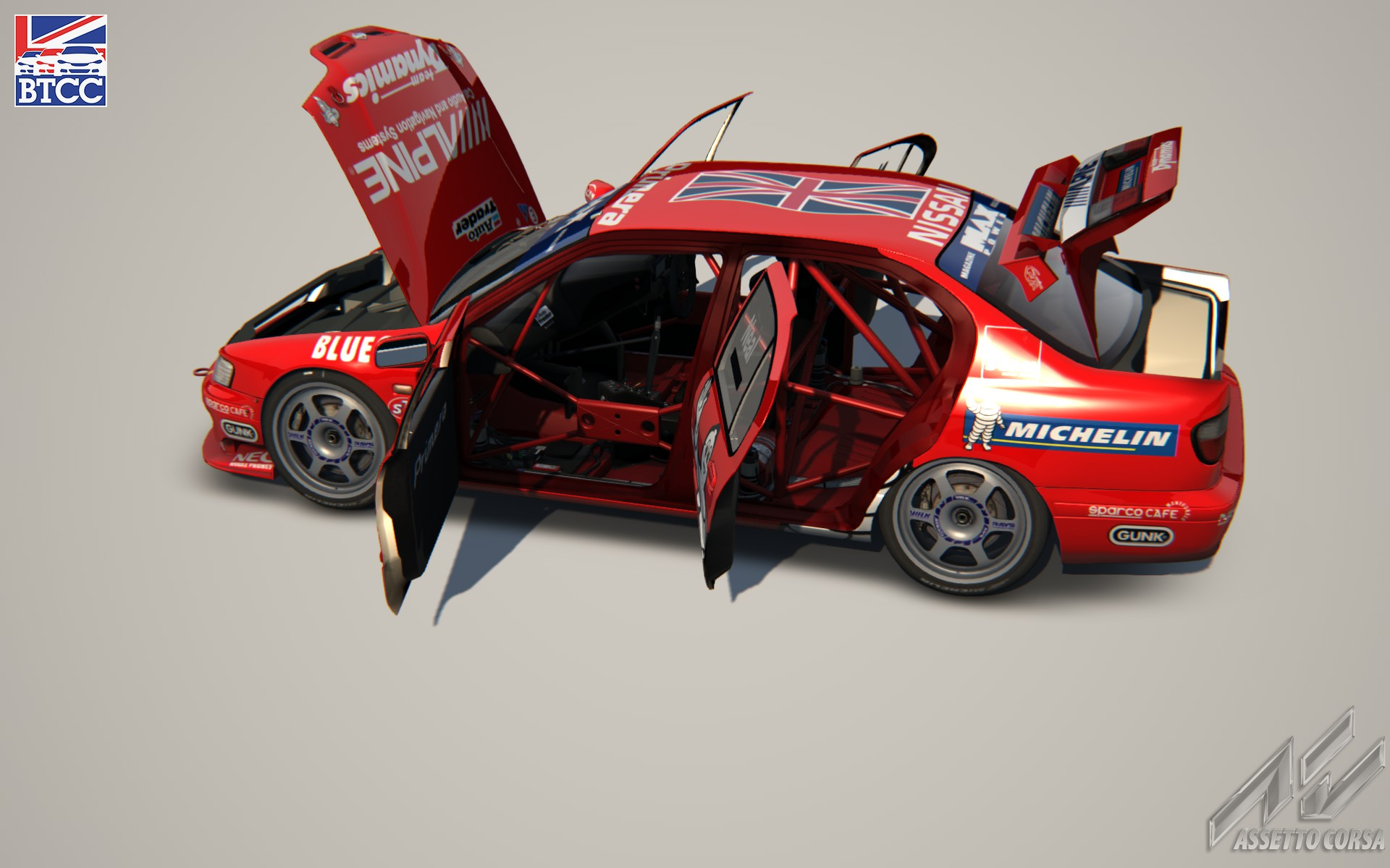 Релиз мода Nissan Primera BTCC 1999 version 0.5a