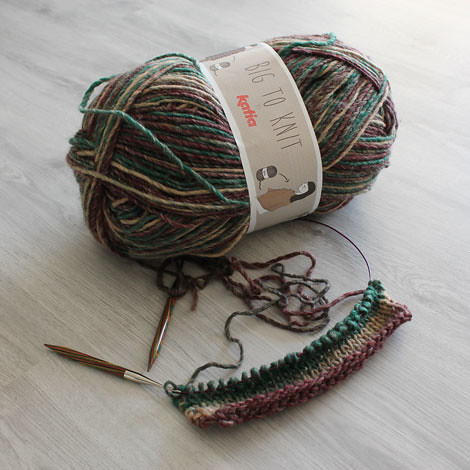 This new to me yarn I discovered