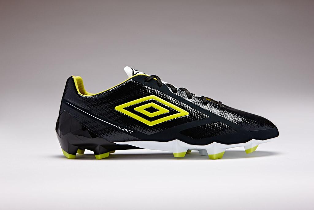 54375e6034 Umbro Velocita 2 Pro HG Boots | The black / sulphur / white … | Flickr