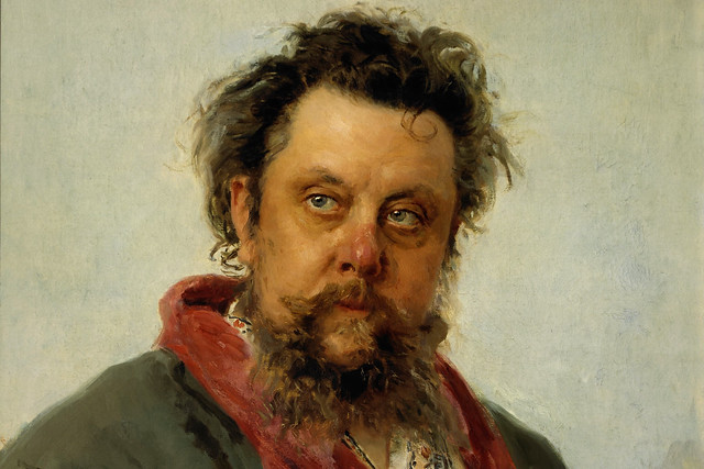 Modest Musorgsky, painted only a few days before his death by Ilya Repin, 1881. Courtesy Wikimedia/Google Cultural Institute