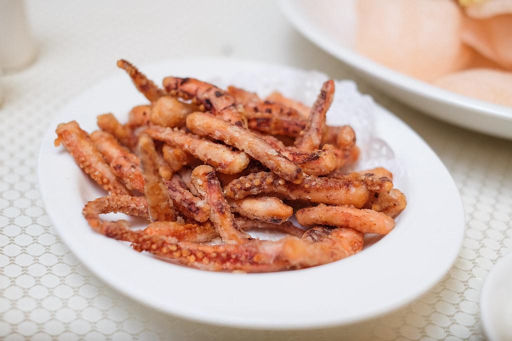Wah Lok Cantonese Restaurant: Octopus Tentacles