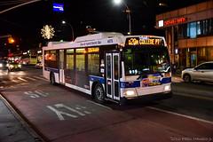 New York MTA Orion 07.501 Next Generation Hybrid-Electric Low Floor #4678