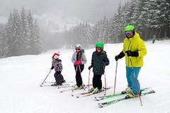 SNOWtour 2015/16: Bílá, Razula a Karolinka pohledem malých lyžařů