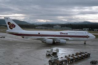 "Thai Airways International Boeing 747-4D7  HS-TGM  ""Chao Phraya"""