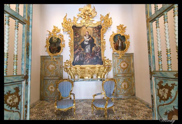 Visita palacio barroco Ayuntamiento Alicante - Capilla lateral en Salón Azul