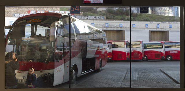 Central camionera (estacion de autobuses), Madrid (2016)