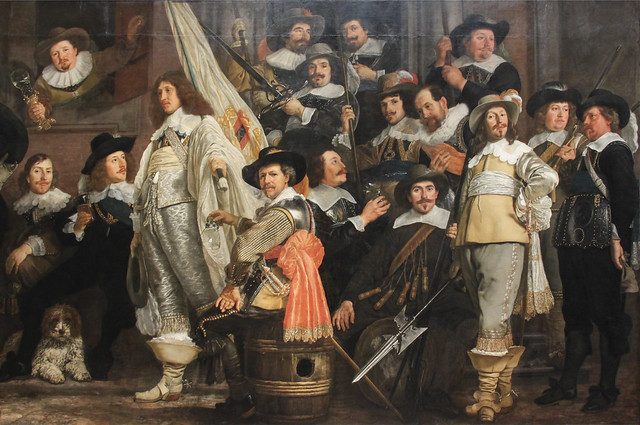 Milita Company of District VIII under the Command of Captain Roelof Bicker, Bartholomeus van der Helst, 1643