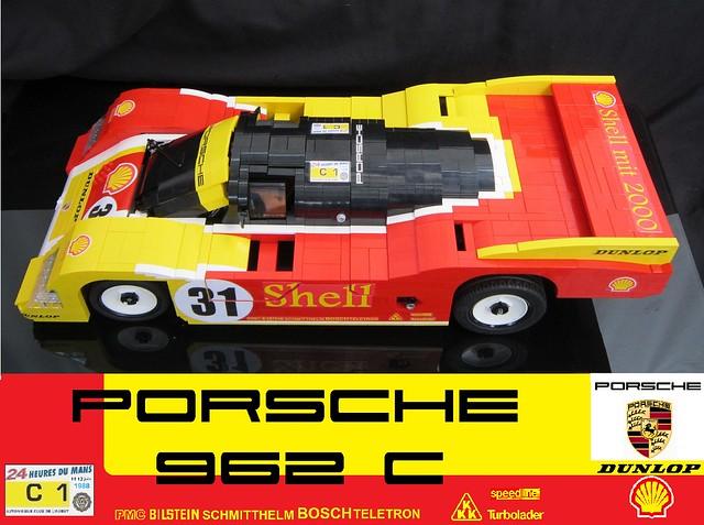 PORSCHE 962C lego - Greg998