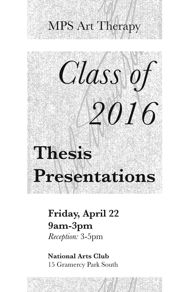 thesis presentations