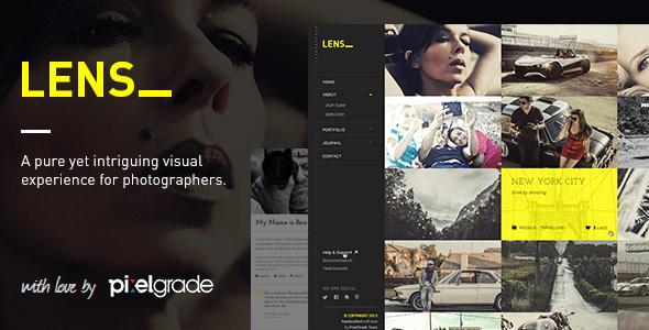 LENS v2.3.2 - An Enjoyable Photography WordPress Theme