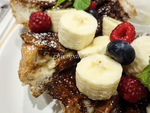 チョコバナナのフレンチトースト画像