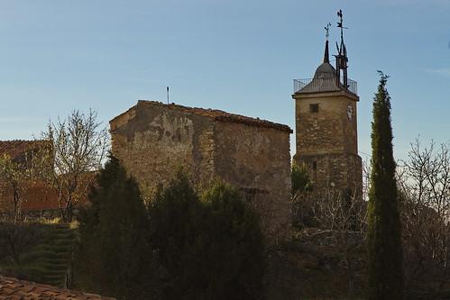 Milmarcos - torre del reloj