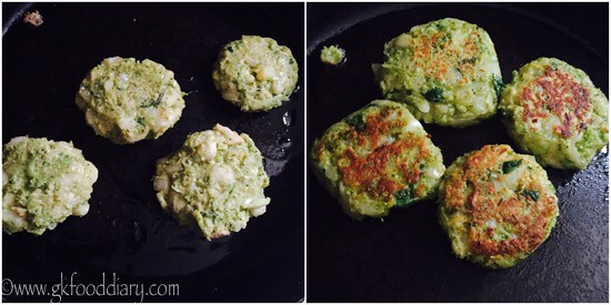 Broccoli cutlet recipe for toddlers and kids - step 4