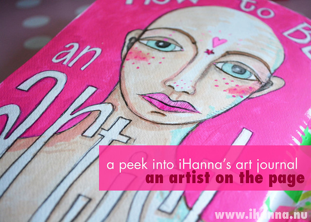 Art Journal Peek: an artist on the page