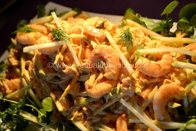 Salade de Céleri & Pommes aux Crevettes à l'Indienne © Ana Luthi Tous droits réservés 013