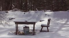 Shooting range in January.