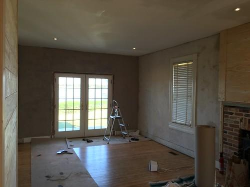 Base Coat Plaster : Plaster restoration next steps part base coat with