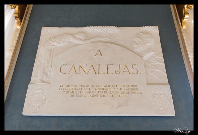 Homenaje a Canalejas