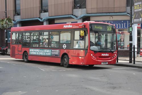 Metroline West DE1798 YX10BFA