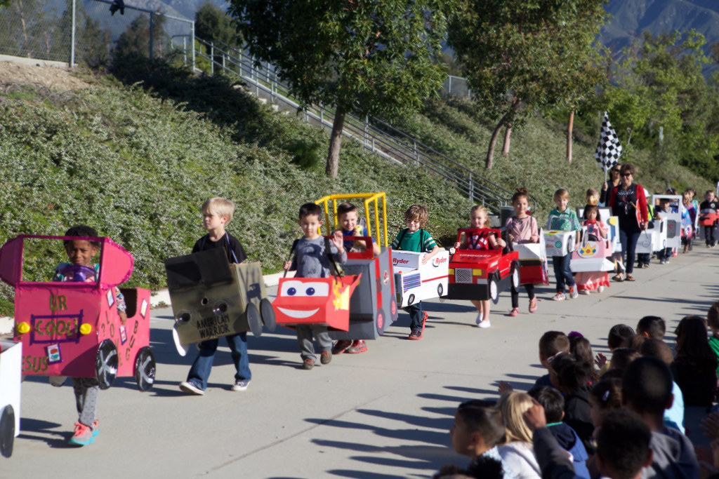 Kindy 500 Parade