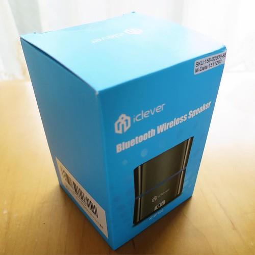 こちらは、Bluetooth のワイヤレススピーカー。