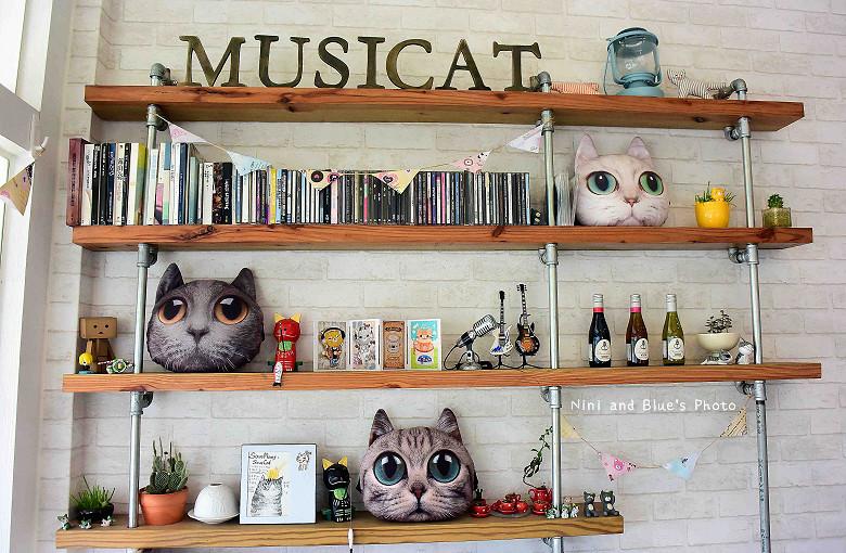 東區拉花貓咪餐廳musicat cafe16