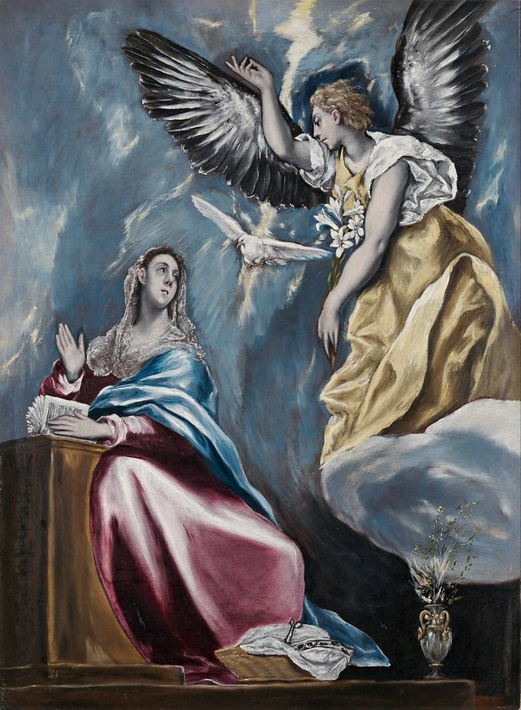 El Greco - The Annunciation (c.1595)