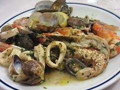Seafood dish at Ambasciata del Mare