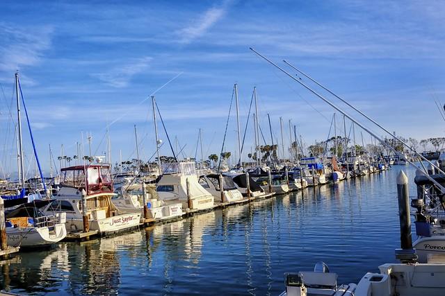 Fishing Poles & Contrails