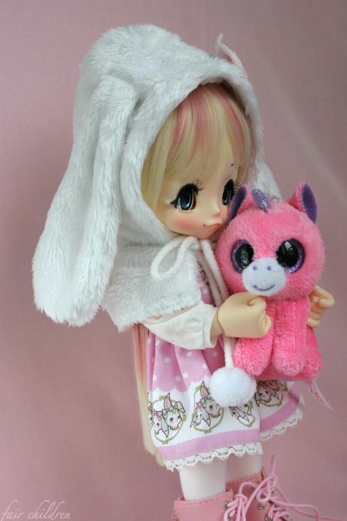 Sweet pink bunny 2