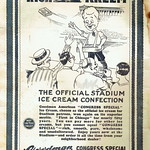Thu, 2016-04-28 09:53 - The Goodman American Congress Special Ice Cream advertisement appeared on the inside cover of the football program for the Notre Dame vs. Navy football game held at Soldier Field, Chicago, Illinois, October 13, 1928 Please do not use this image in any media without my permission. © All rights reserved.