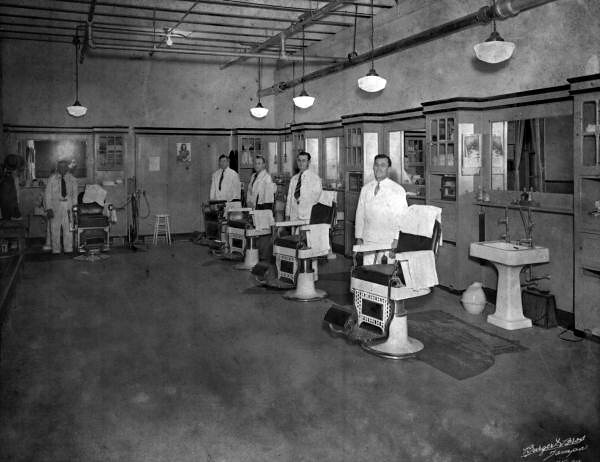 Barber shop at Florida State Hospital - Chattahoochee
