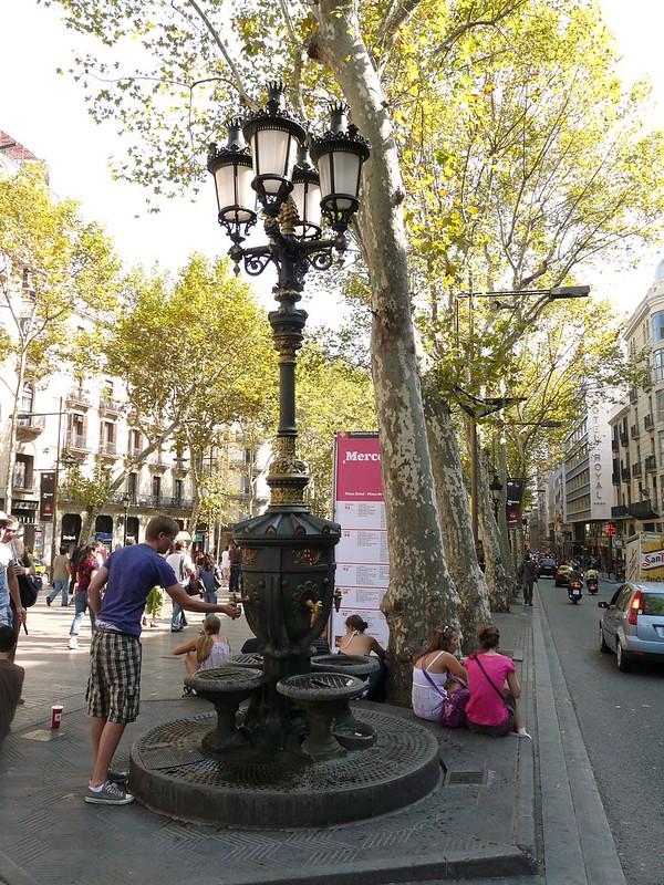 Font de Canalets, Barcelona, Espanha