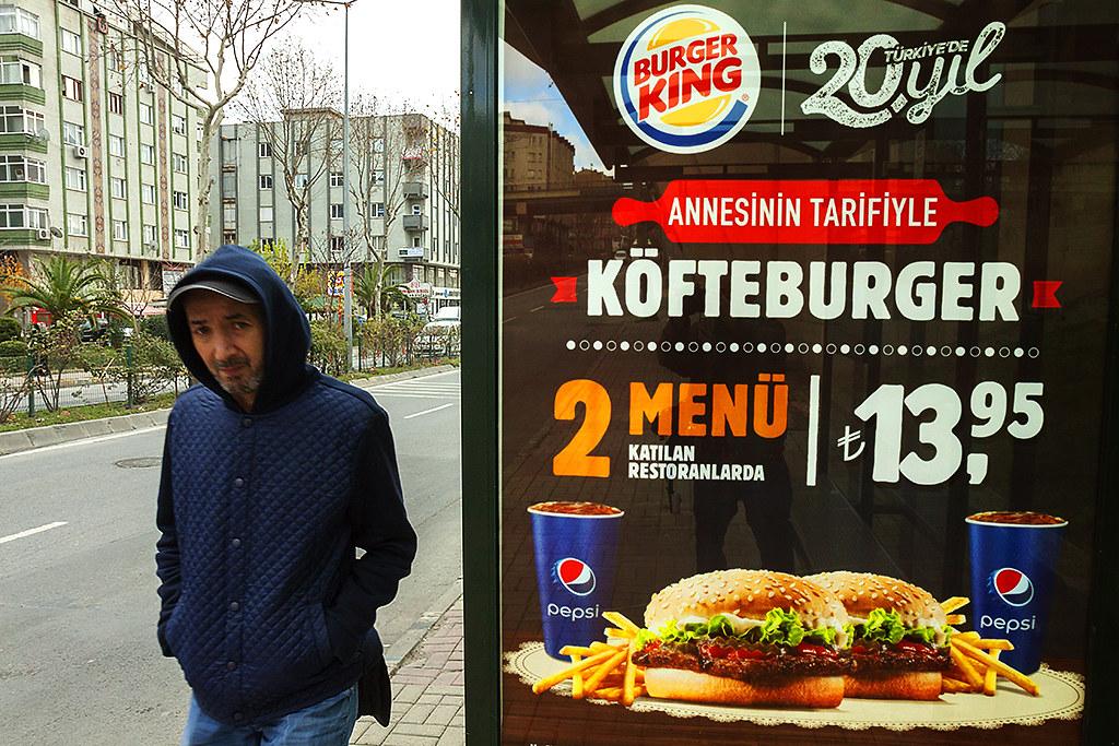 BURGER KING ad--Istanbul