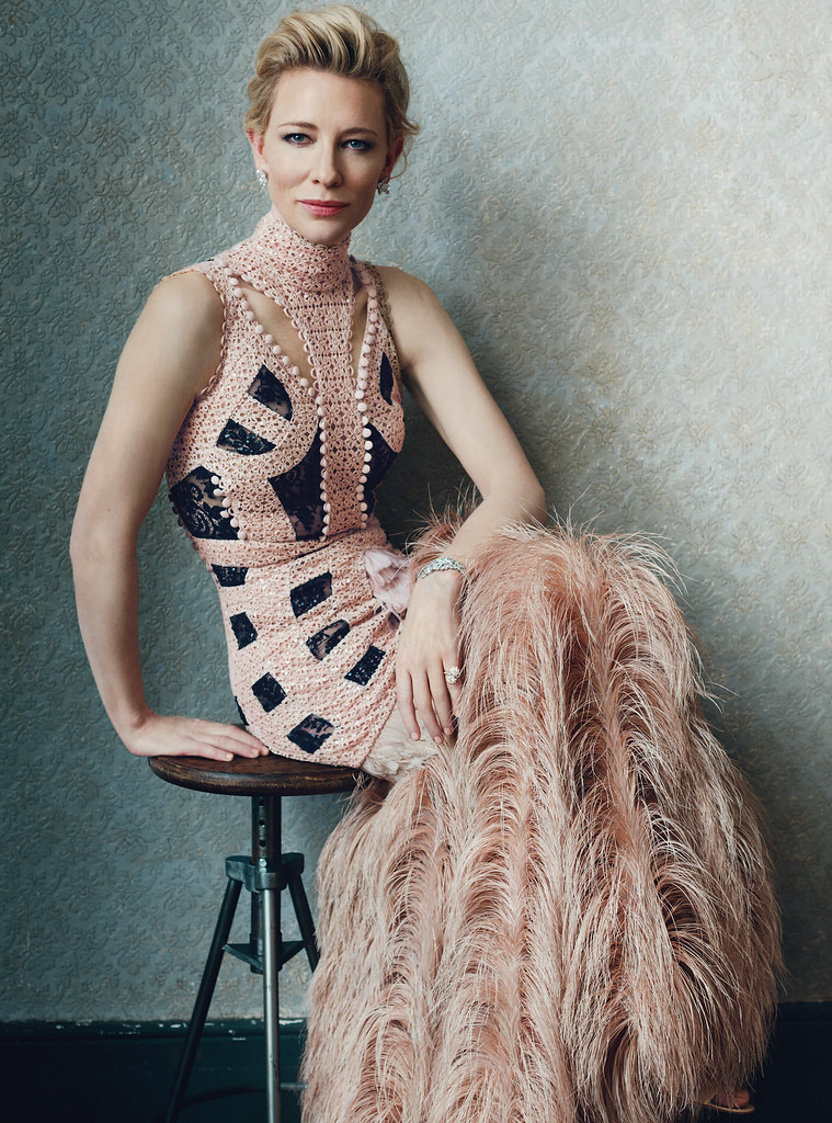 Кейт Бланшетт — Фотосессия для «Harper's Bazaar» UK 2015 – 7