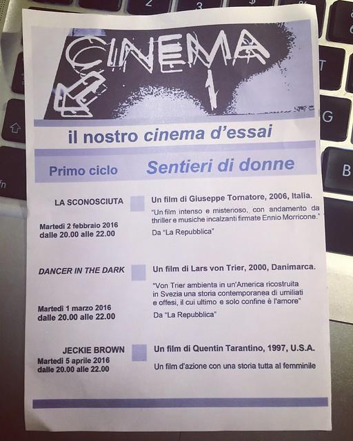 FluidoFlusso cinema d'essai
