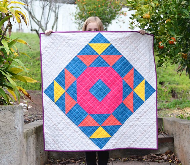 giant single wedding ring quilt Kitchen Table Quilting