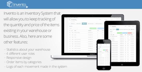 Invento v2.0 – Simple Inventory Sytem