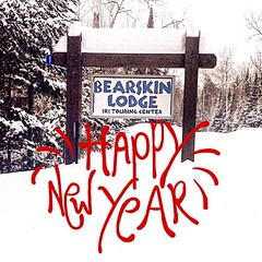 Best wishes for a Happy New Year to all of you from Bearskin Lodge.