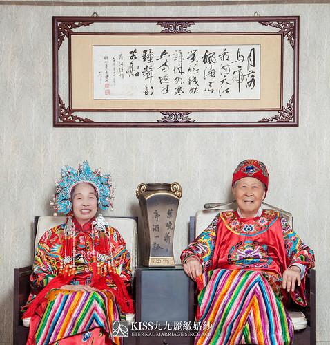 高雄週年照推薦Kiss九九麗緻婚紗 讓爸媽有個浪漫金婚週年 (5)