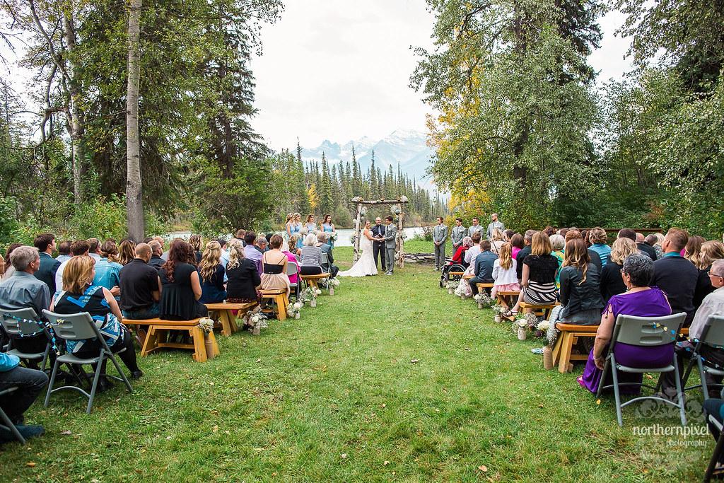 Tete Jaune Lodge BC Wedding Ceremony