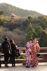 Selfie in Kimono